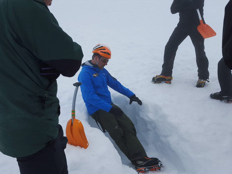 Training in the Cairngorms with Bill Strachan