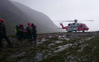 CALLOUT – Cnoc na Toinne, MacGillycuddy Reeks