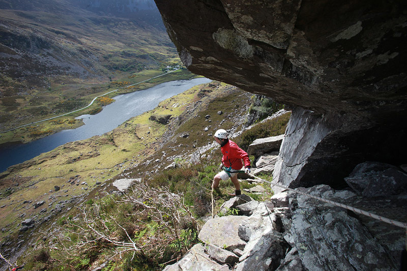 John O'Sullivan training in the Gap of Dunloe.