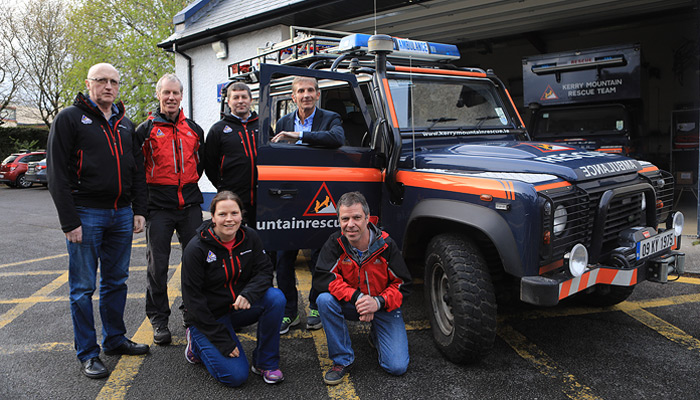 Walk with James Cahill for Kerry Mountain Rescue