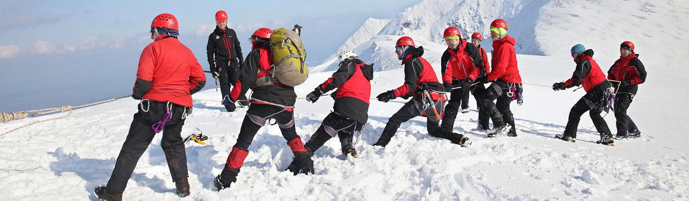 Kerry mountain rescue training