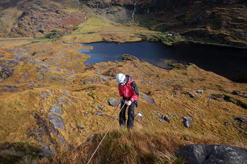 Abseiling in the Gap.