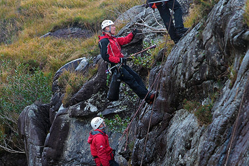Training in the Gap of Dunloe.