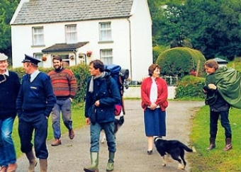Search in Glanmore, September 1992.